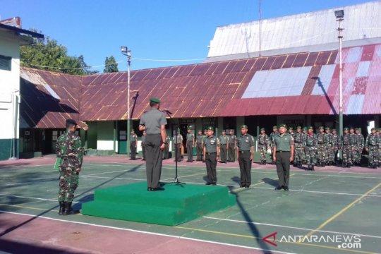 Belasan prajurit TNI di Sangihe, perbatasan RI-Filipina naik pangkat