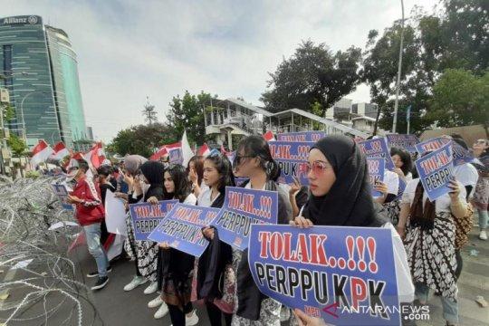 Pilih jalur konstitusi, BEM Jakarta tolak Perppu KPK