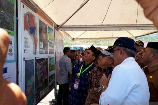 Wapres JK pertanyakan perkembangan huntap penyintas bencana Kota Palu