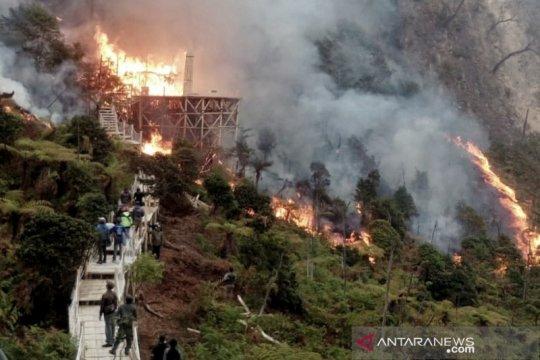 Ridwan Kamil instruksikan Bupati Bandung atasi kebakaran lahan