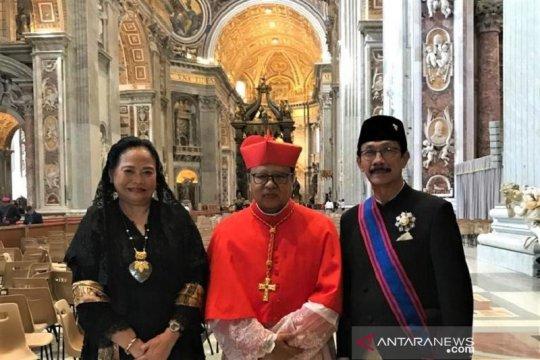 Pelantikan Mgr Suharyo bukti Indonesia dipercaya Paus Fransiskus