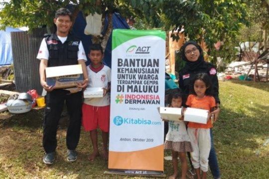 ACT terus bantu dapur umum dan layanan kesehatan korban gempa Ambon