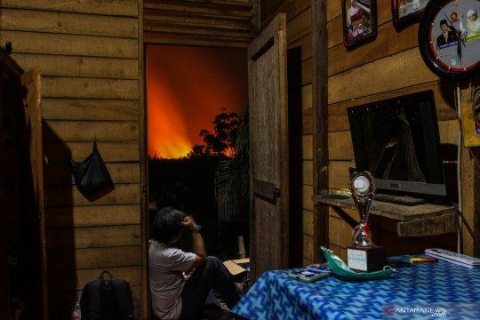 Kebakaran lahan gambut Pekanbaru