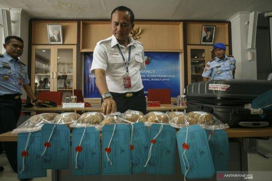 Rilis tangkapan sabu-sabu 5 kg di Yogyakarta