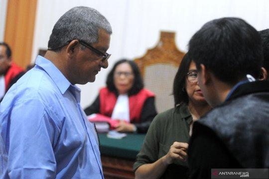 Sidang kasus narkoba warga negara Peru