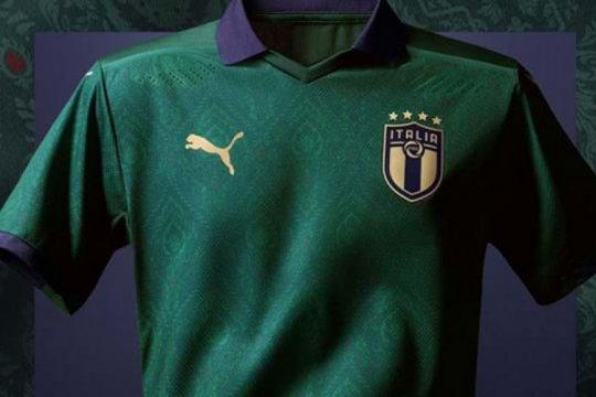 Puma rilis seragam hijau Renaisans untuk Italia