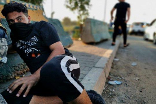 PM Irak-Menlu AS di telepon bahas situasi aksi protes terbaru