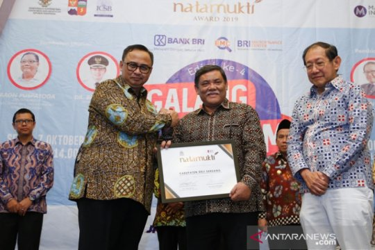 Deliserdang kembali raih penghargaan Natamukti