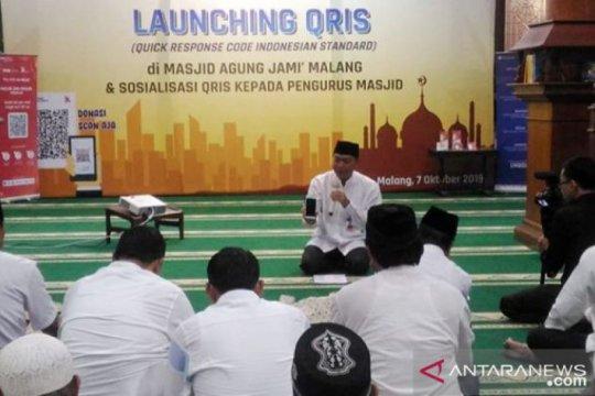 Bank Indonesia Malang kenalkan bersedekah nontunai dengan QRIS
