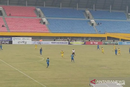 Sriwijaya FC lolos 8 besar Liga 2 usai tekuk Blitar Bandung United