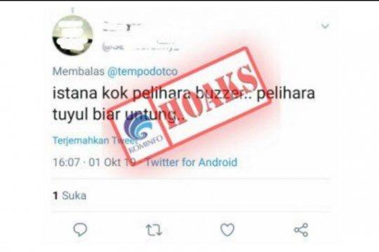 Menkominfo tidak akan tebang pilih dalam pemberantasan hoaks