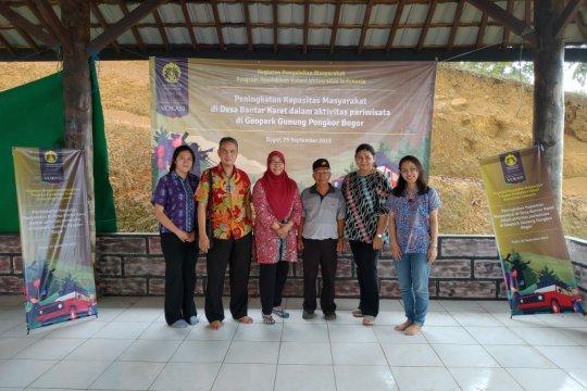 Vokasi UI berdayakan masyarakat di Geopark Gunung Pongkor