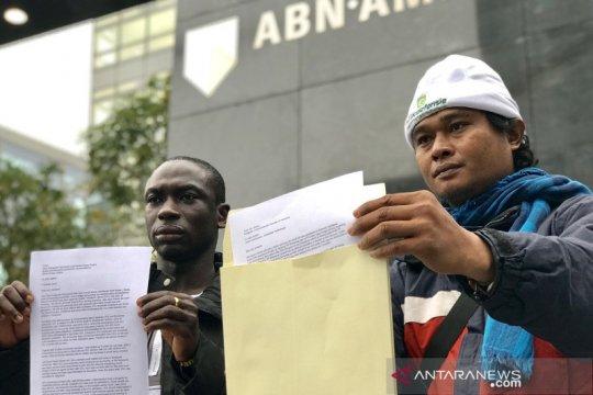 Petani sawit Sulteng adukan perampasan tanah ke ABN-AMRO di Belanda