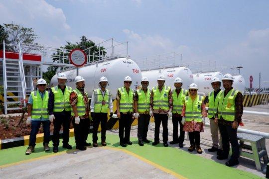 Pertamina-Elnusa Petrofin resmikan DPPU Bandara Raden Inten