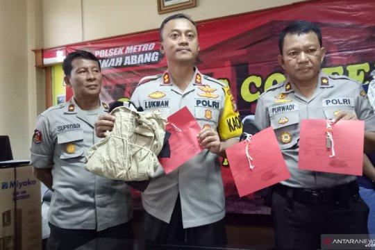 Polisi ringkus pencuri kotak amal di Wihara Tanah Abang