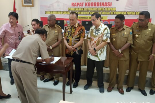 KPK dorong perbaikan tatakelola penyaluran bansos Papua Barat