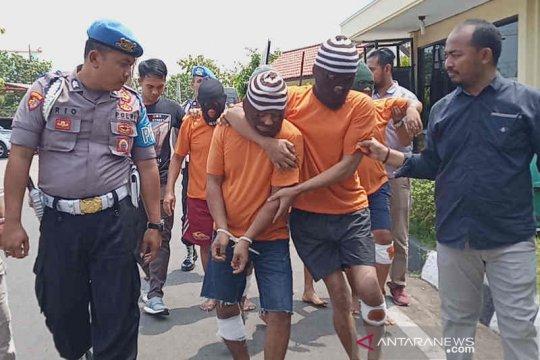 Polisi tembak enam pencoleng di Indramayu