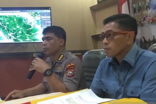 Polda Riau : PT SSS bakar lahan untuk pembukaan perkebunan sawit baru