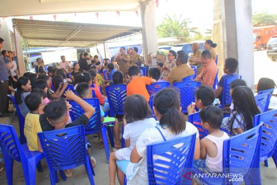 PKG PAUD ajar anak-anak pengungsi Wamena