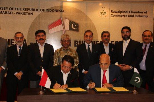 KBRI Islamabad dorong kerja sama ekonomi Indonesia-Pakistan