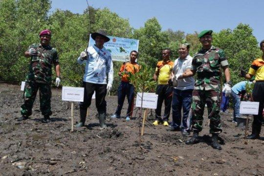 Sinergi Pelindo III-TNI tanam ratusan ribu bibit bakau