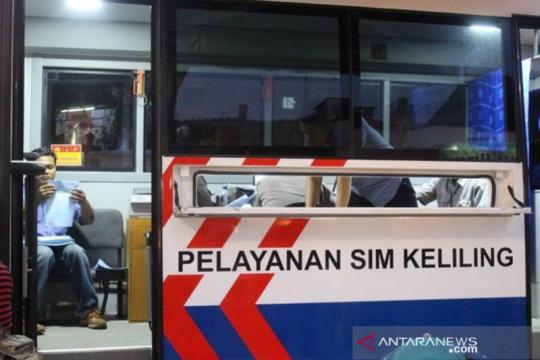 Yuk perpanjang SIM di Lapangan Banteng