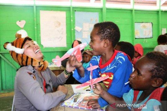 Kemensos beri layanan trauma healing bagi korban kerusuhan Wamena