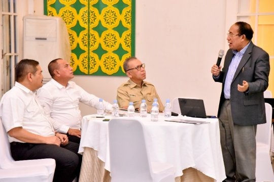 Gubernur minta pembangunan Medan-Binjai-Deliserdang diselesaikan