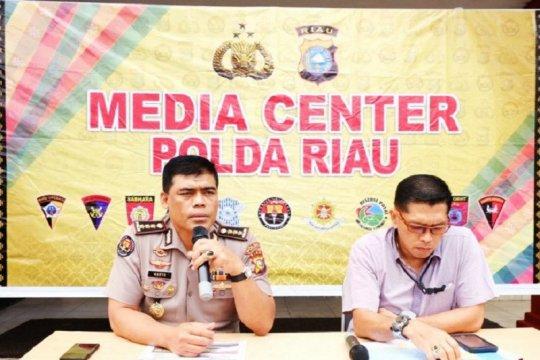 Polda Riau tahan petinggi PT SSS terkait karhutla
