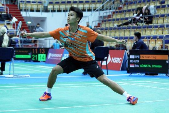 Satu wakil Indonesia gugur di babak 32 besar tunggal putra WJC 2019