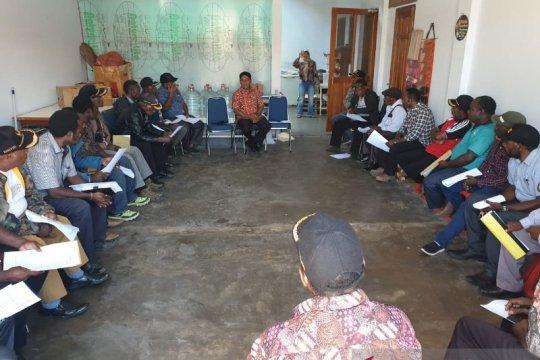 Pemkab Lanny Jaya data jumlah pengungsi Nduga di wilayahnya