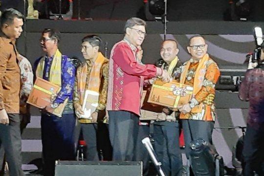 Lampung terima 17 sertifikat Warisan Budaya Takbenda