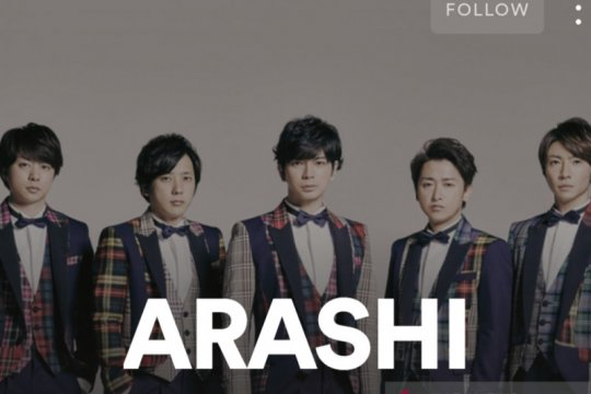 Tak hanya YouTube, Arashi juga buka kanal Spotify