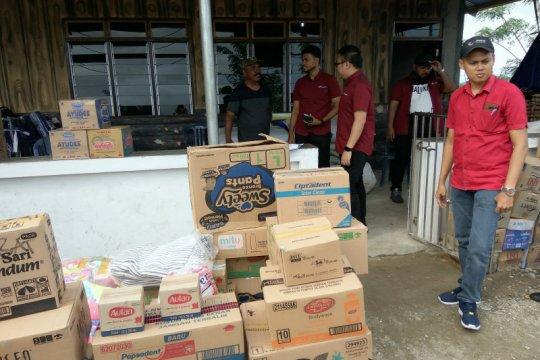 Astra Motor Makassar salurkan bantuan kepada pengungsi gempa Ambon