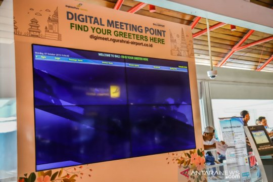 """""""Digital Meeting Point"""" Bandara Ngurah Rai bantu permudah penjemputan"""