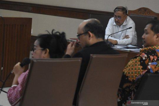 Jaksa cecar Miryam Haryani soal pertemuan dengan Markus Nari