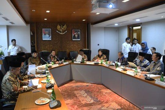 MPR sepakati pembagian tugas 10 pimpinan