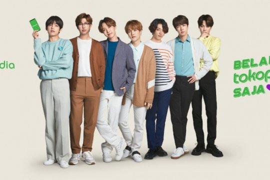 Tokopedia: BTS kaget antusiasme Army