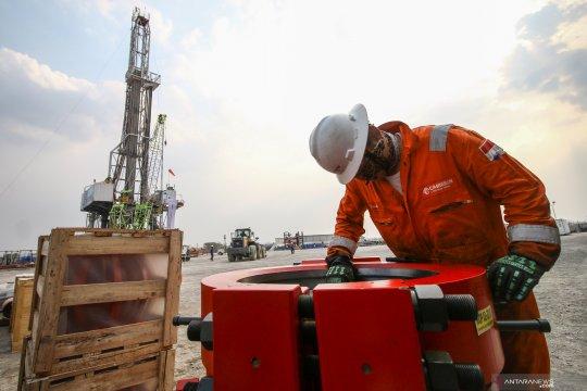 Prosesi tanjak sumur di lapangan gas Bojonegoro