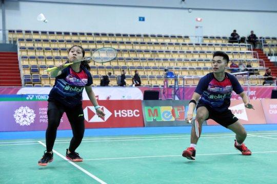 Leo/Indah lolos ke perempat final kejuaraan dunia junior