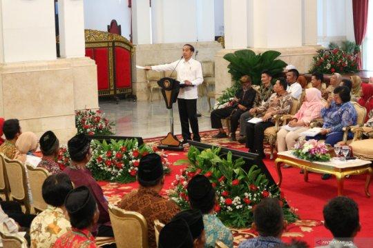 Presiden bahas hambatan perhutanan sosial saat terima wakil petani