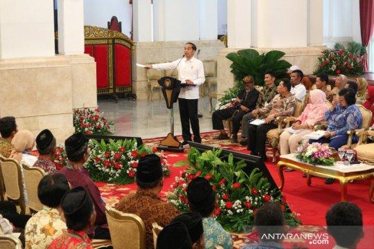 Presiden temui Perwakilan Masyarakat Perhutanan Sosial