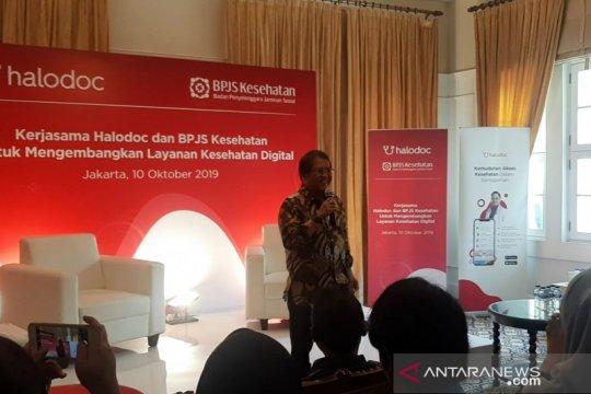 Menkominfo dukung integrasi layanan digital BPJS Kesehatan-Halodoc