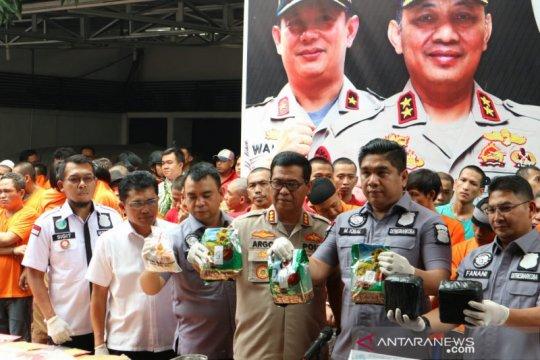 Operasi Nila Jaya 2019, Polisi tangkap enam WNA penyelundup narkoba