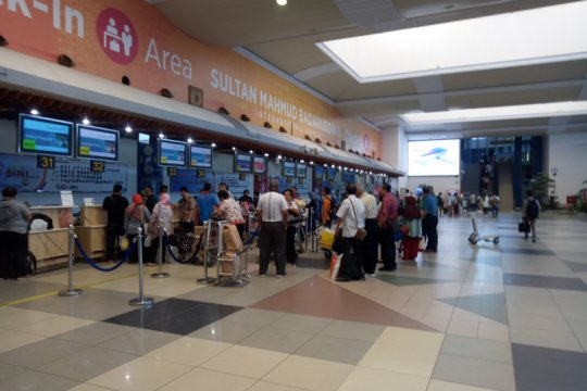Selama musim asap, 476 penerbangan di Palembang tertunda