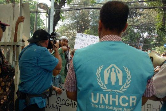 Para pengungsi setuju bernegosiasi dengan UNHCR