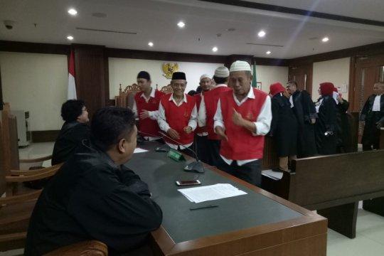 Hakim jatuhkan vonis tiga bulan terdakwa pembawa ambulans 21-22 Mei