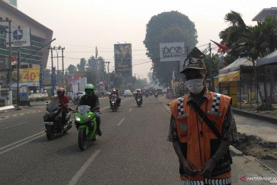 Kabut asap kembali ancam Kota Jambi