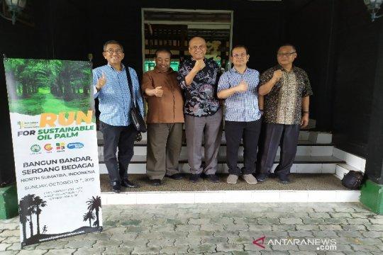 Sebanyak 26 pelari asing ikut Indonesia Palm Oil Marathon 2019