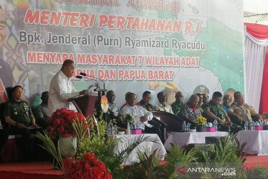 Ryamizard tegaskan Papua bagian integral Indonesia